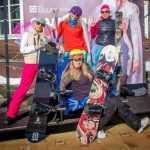 Невесты на лыжах на горе Соболиная