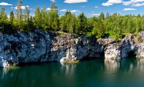Интереснейшие места Карелии: парк каньон Рускеала