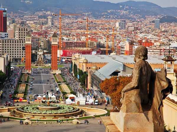 ночлег в Барселоне