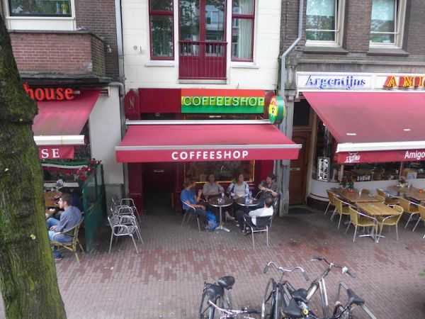 Амстердам кофешопы