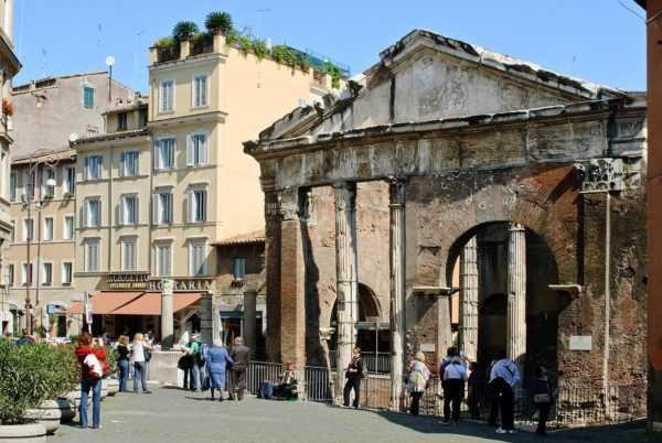 Прогулки по Еврейскому гетто в Риме