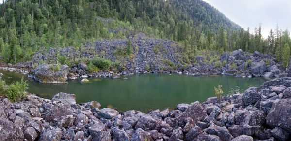 Загадочные места Алтая: Каменный залив