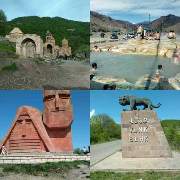 Божественный отдых в Армении и Нагорном Карабахе