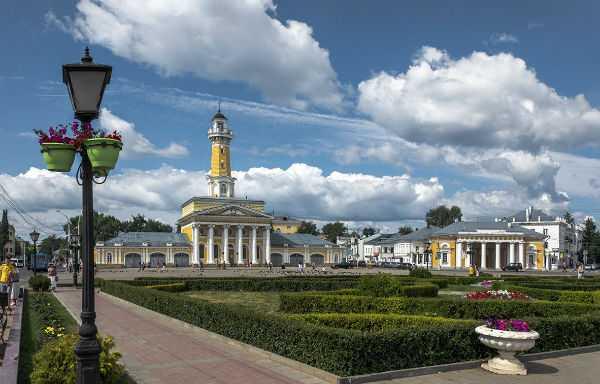 Пешая прогулка по осенней Костроме: маршрут родом из детства