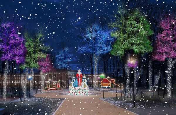 В Чебоксарах подготовлена концепция новогоднего оформления города