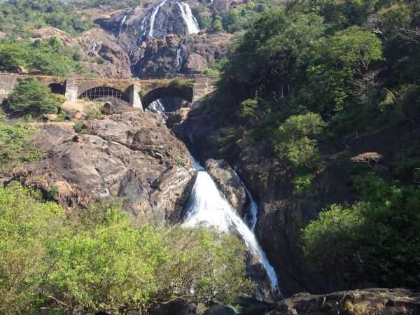 Водопад Дудхсагар - джунгли, экзотика и немного экстрима