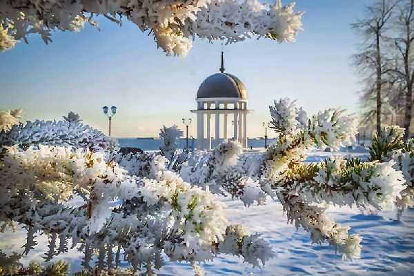 в Карелии зимой