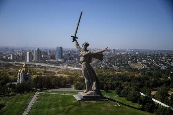 Памятник Родина-мать в Волгограде