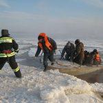 Службы спасения на озере Байкал
