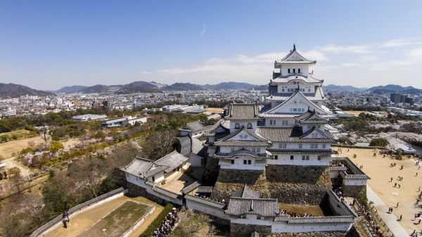 Замок Химэдзи: очарование японского средневековья