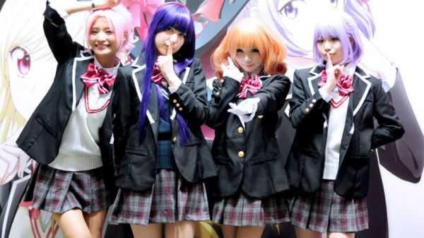 аниме в Токио