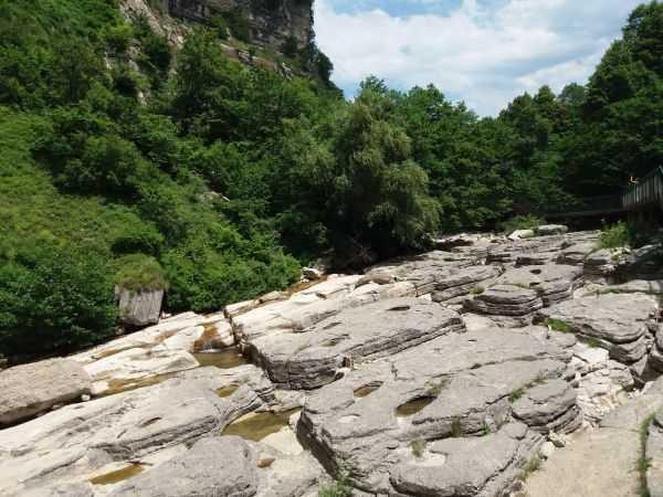 Каньоны и водопады Имеретии