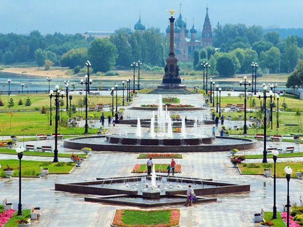 Парк Тысячелетия, Ярославль