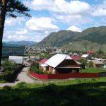 Село Чемал. Одно из самых посещаемых мест Горного Алтая