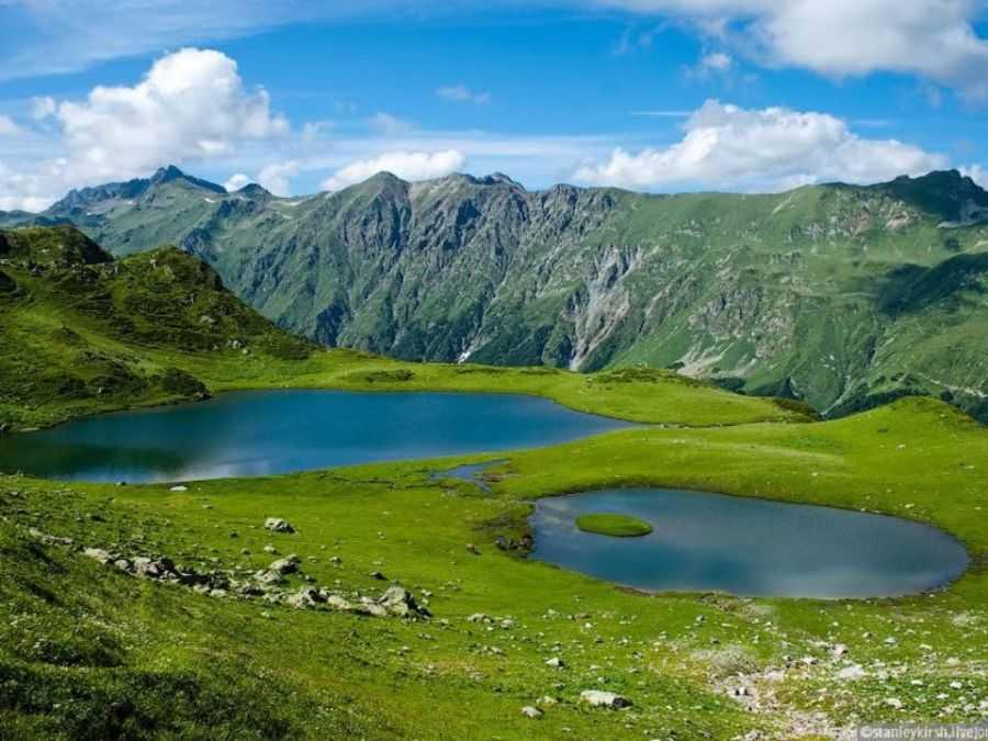 Хмелёвские озера. Уголки природы у Красной поляны