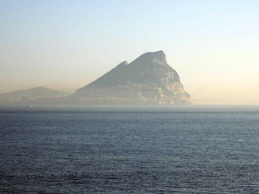 Гибралтар, скала