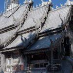 Серебряный храм Sri Suphan в Чиангмае в весь Таиланд