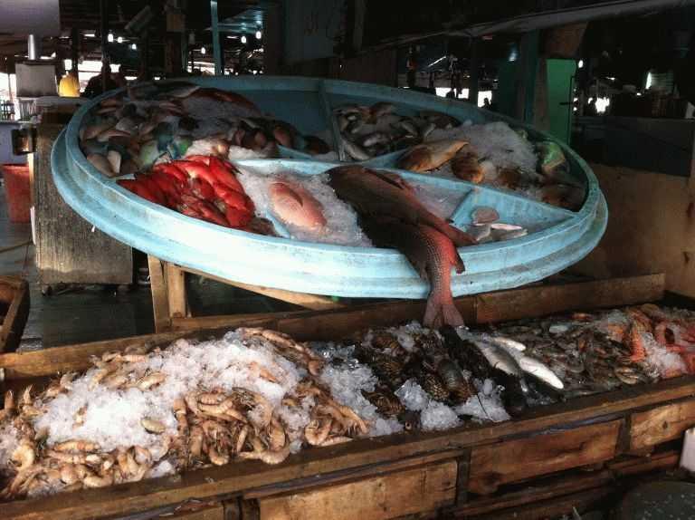 Рыбный рынок Хургада