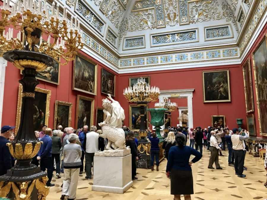 Эрмитаж в Зимнем Дворце