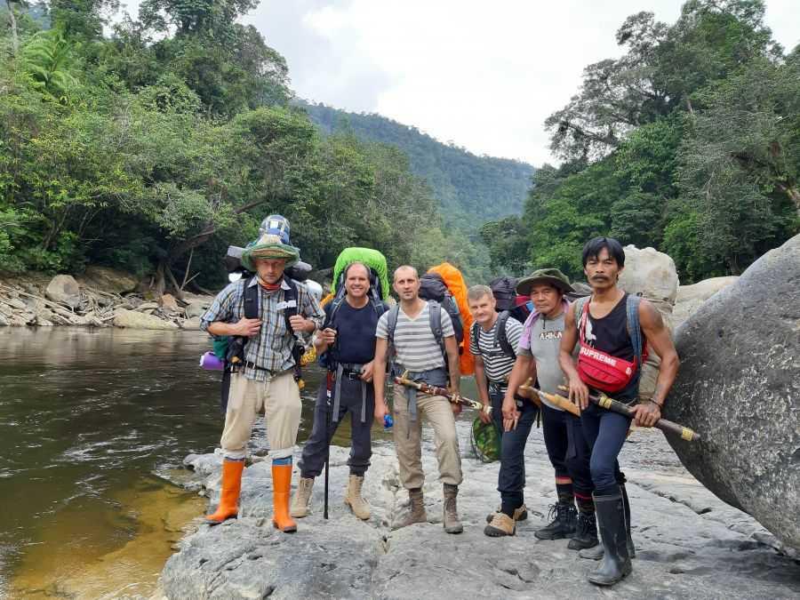 экспедиция в дикие джунгли Борнео