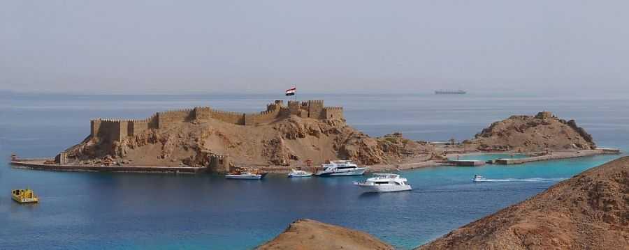 остров фараонов в табе