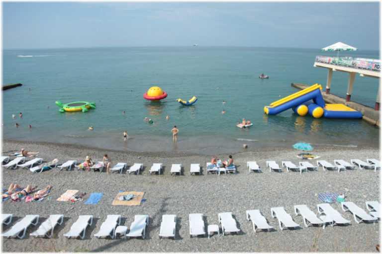 Пляжи Курортного городка