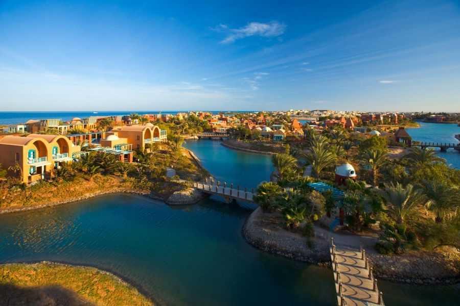 Уникальный курорт Эль-Гуна в Египте