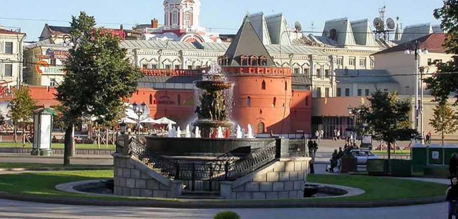 По Москве пешком. Китай город