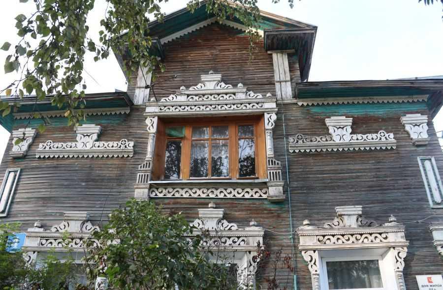 Резные дома Вологды