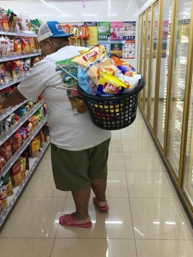 с какой сумкой пойти в магазин в Тайланде