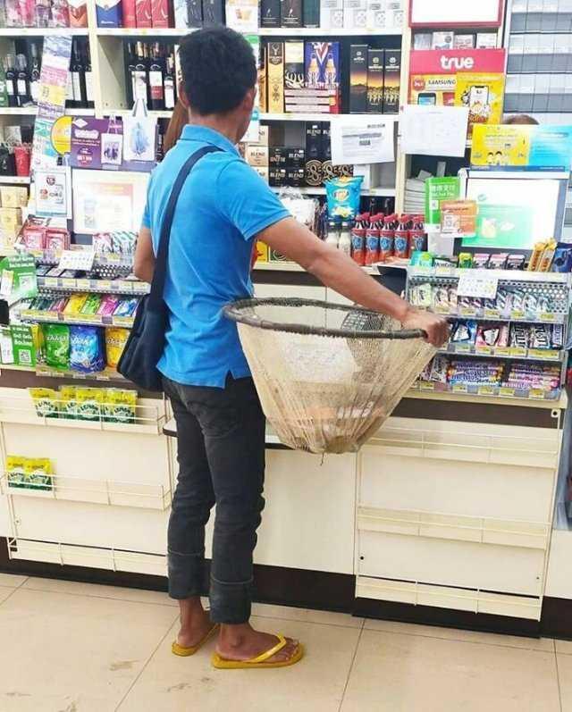 целлофановые пакеты в Тайланде запрещают