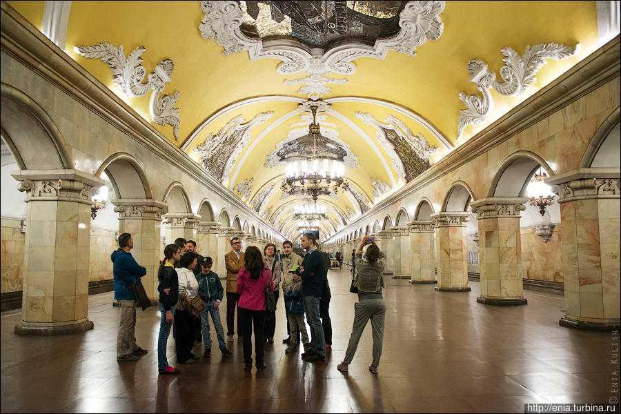 Увлекательные экскурсии по метро Москвы