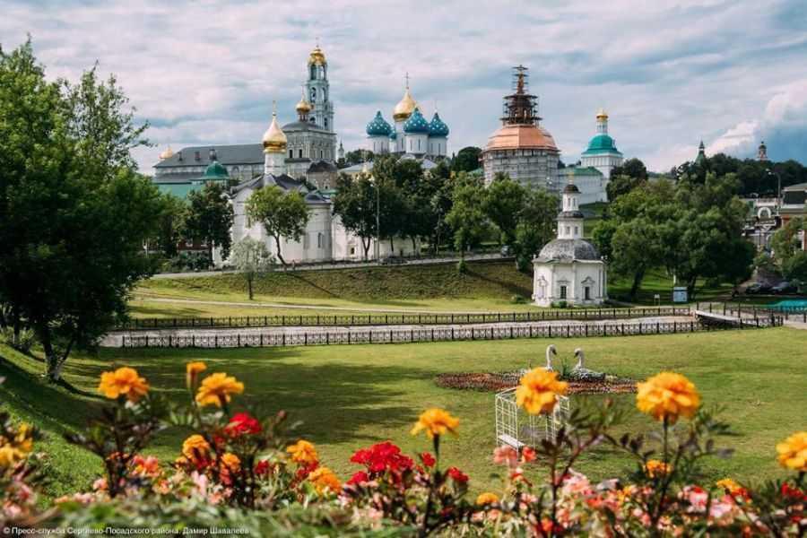 Святое место Золотого кольца - в Сергиев Посад из Москвы