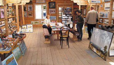 Листвянка. Галерея Пламеневского — место для творческого отдыха