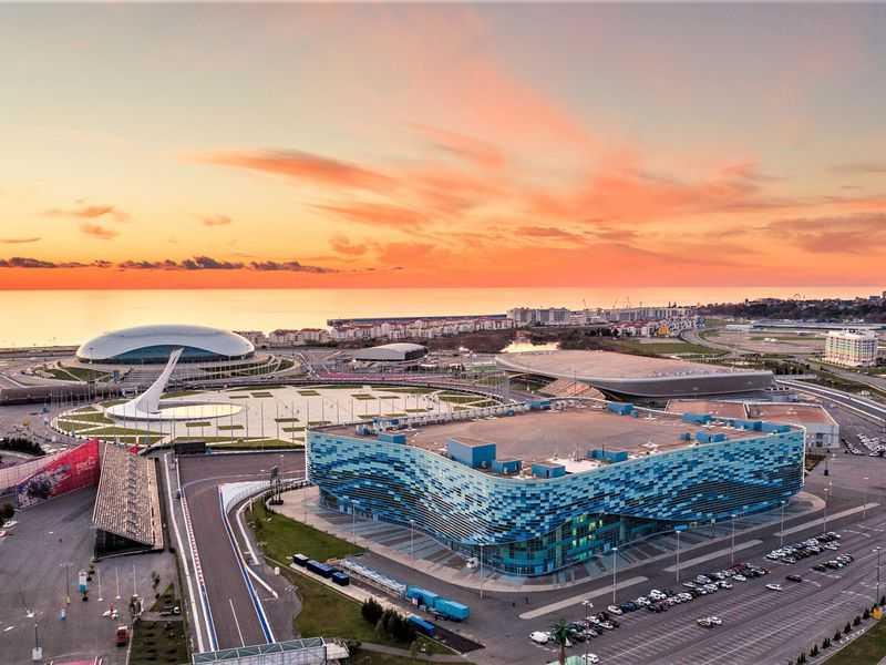 Олимпийский парк с Адлере