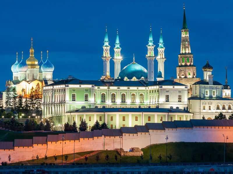 Индивидуальная экскурсия - вечерняя Казань