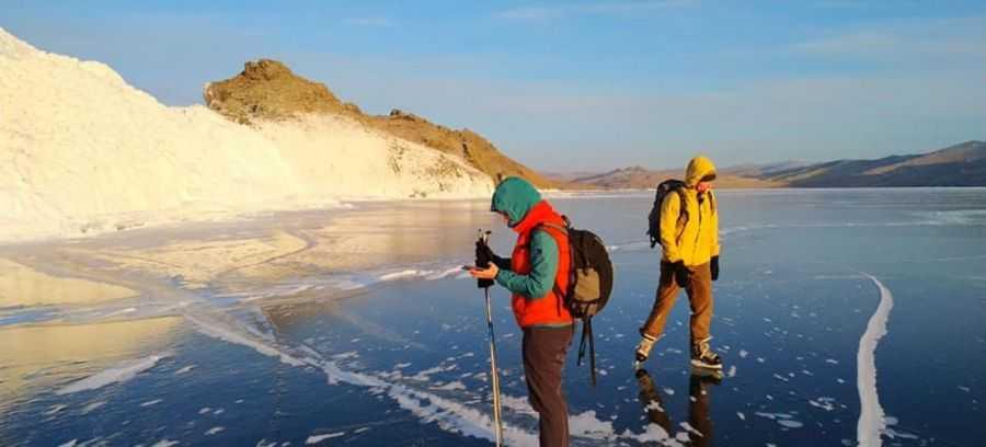 Стоит ли ездить кататься на коньках на Байкал?