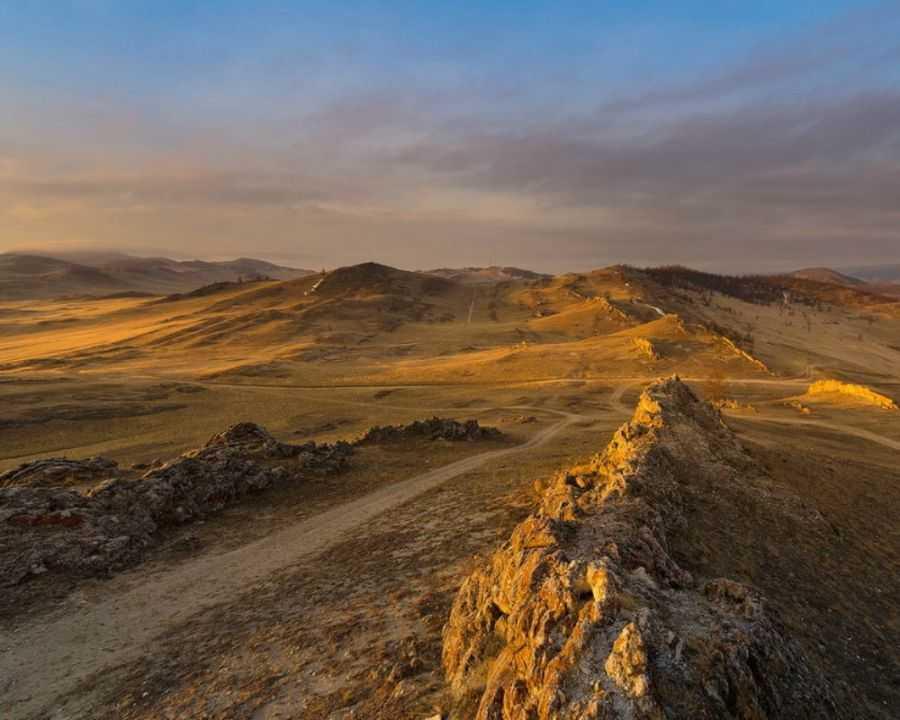 Тажеранская степь