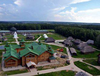 Отдых в Подмосковье. Этнографический парк Этномир