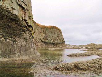 Мыс Столбчатый на острове Кунашир. Жил ли здесь дракон?