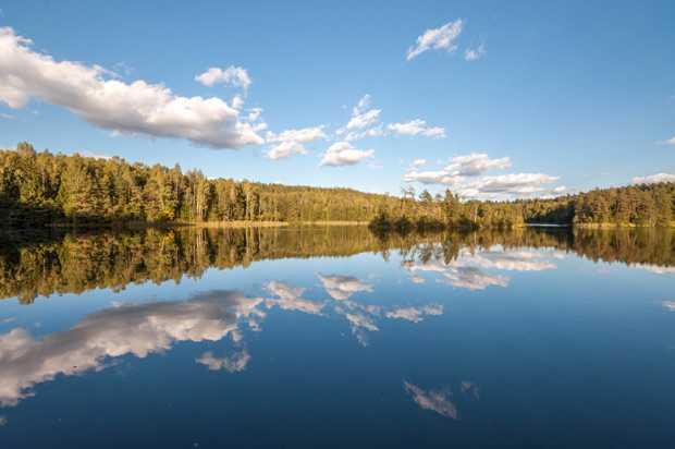 Заказник Голубые озера