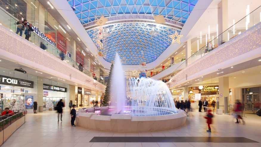 Торговый центр МореМолл в Сочи. Общее представление