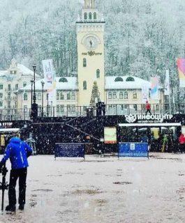 Красная Поляна зимой — как в сказке