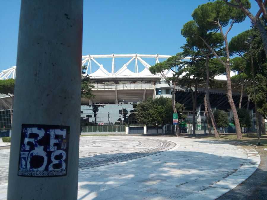 Олимпийский стадион - Stadio Olimpico.