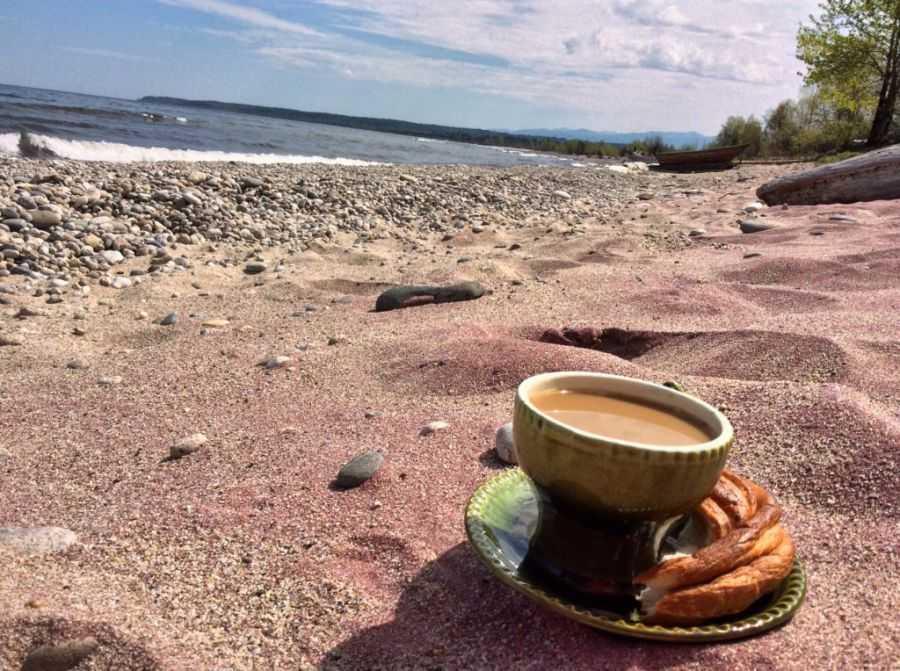 Гранатовый пляж в Байкальске - Моя география