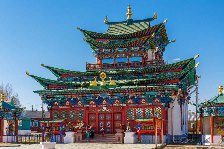 Иволгинский дацан. Описание самого популярного буддистского центра России