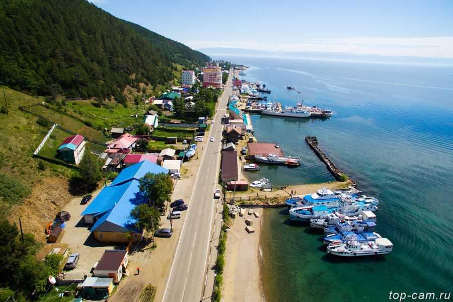 отдых на Байкале в Листвянке