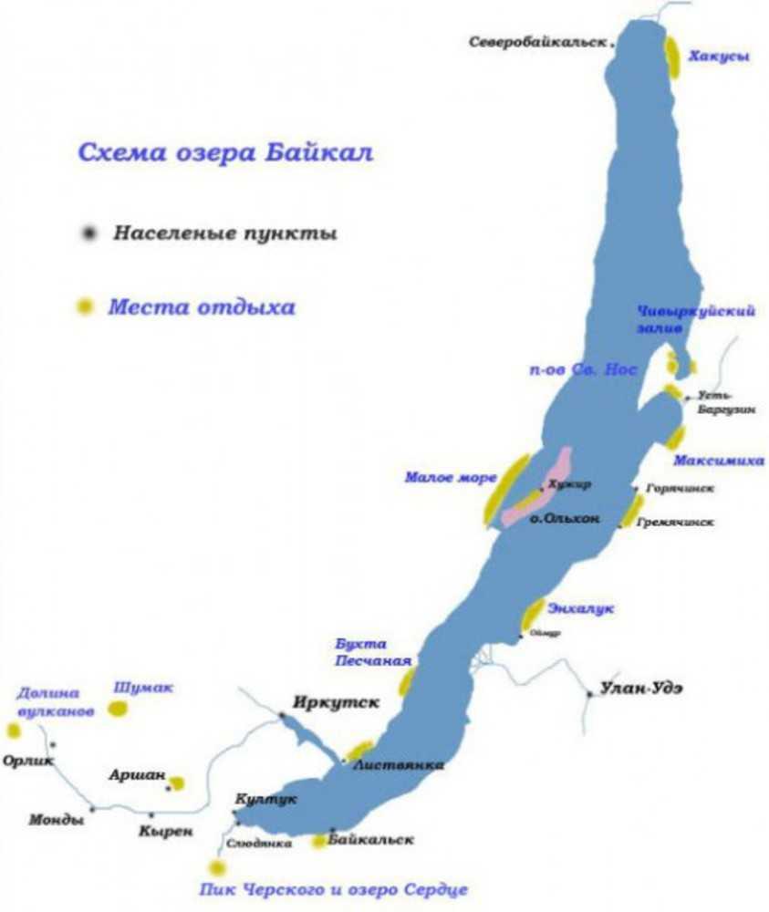спланировать отдых на Байкале