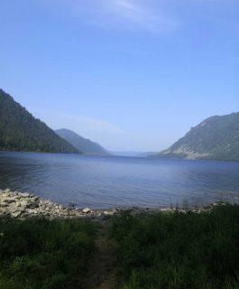Первая поездка на Телецкое озеро. Прогулка на катере