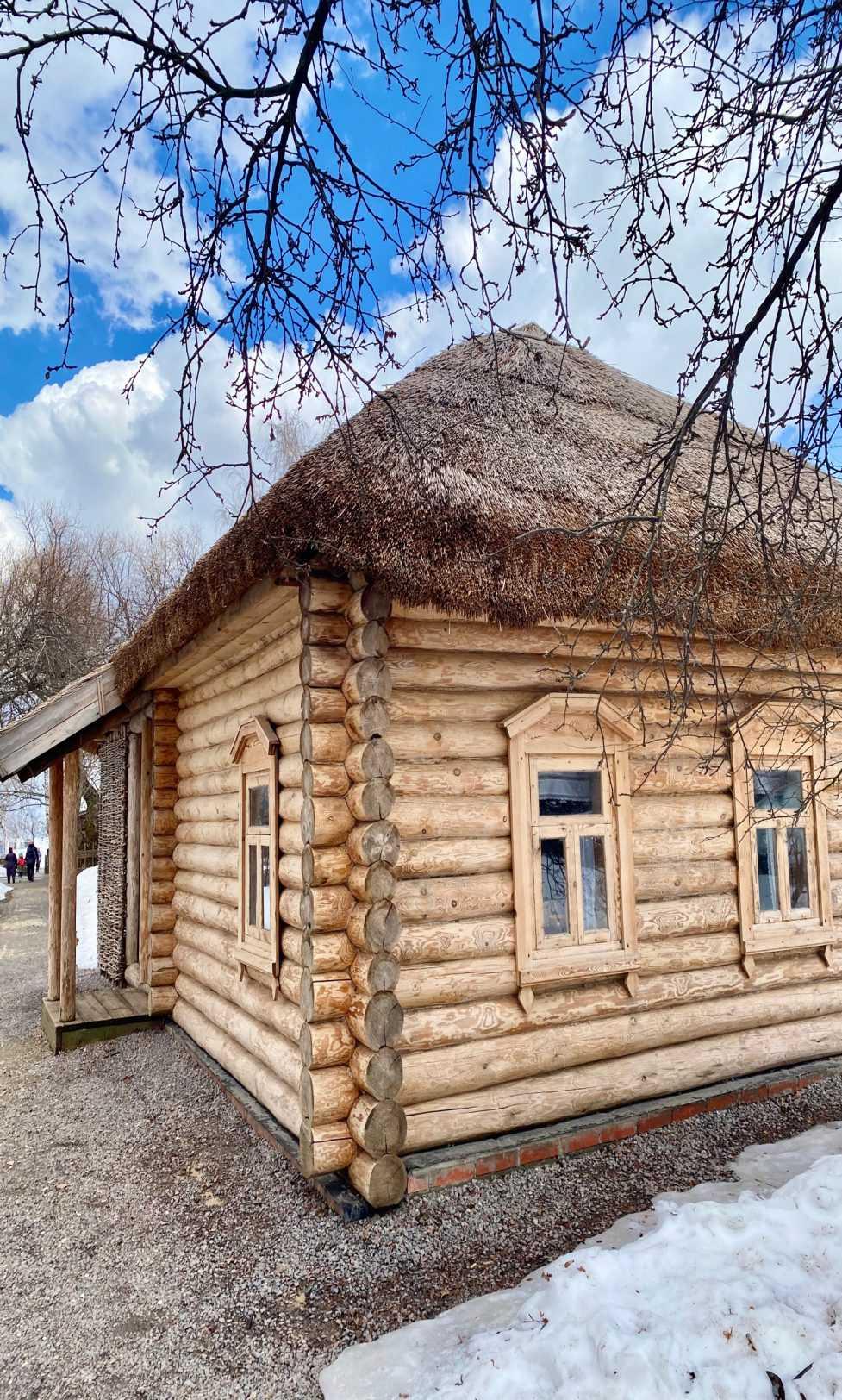 Дом, в котором жил и родился Сергей Есенин